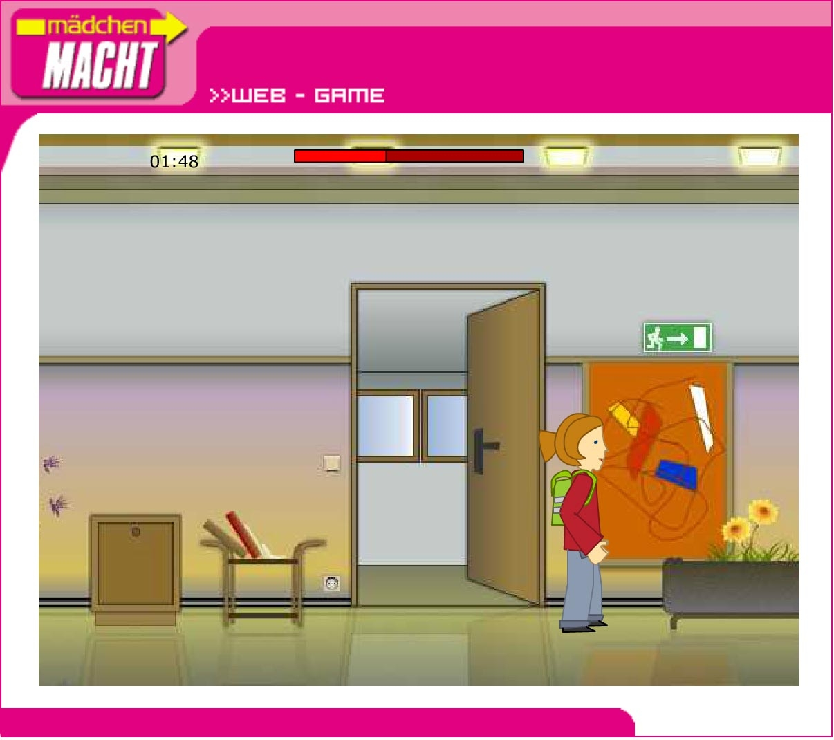 Mädchen macht! | maedchenmacht.at | 2002 | Game (Screen Only 05) © echonet communication