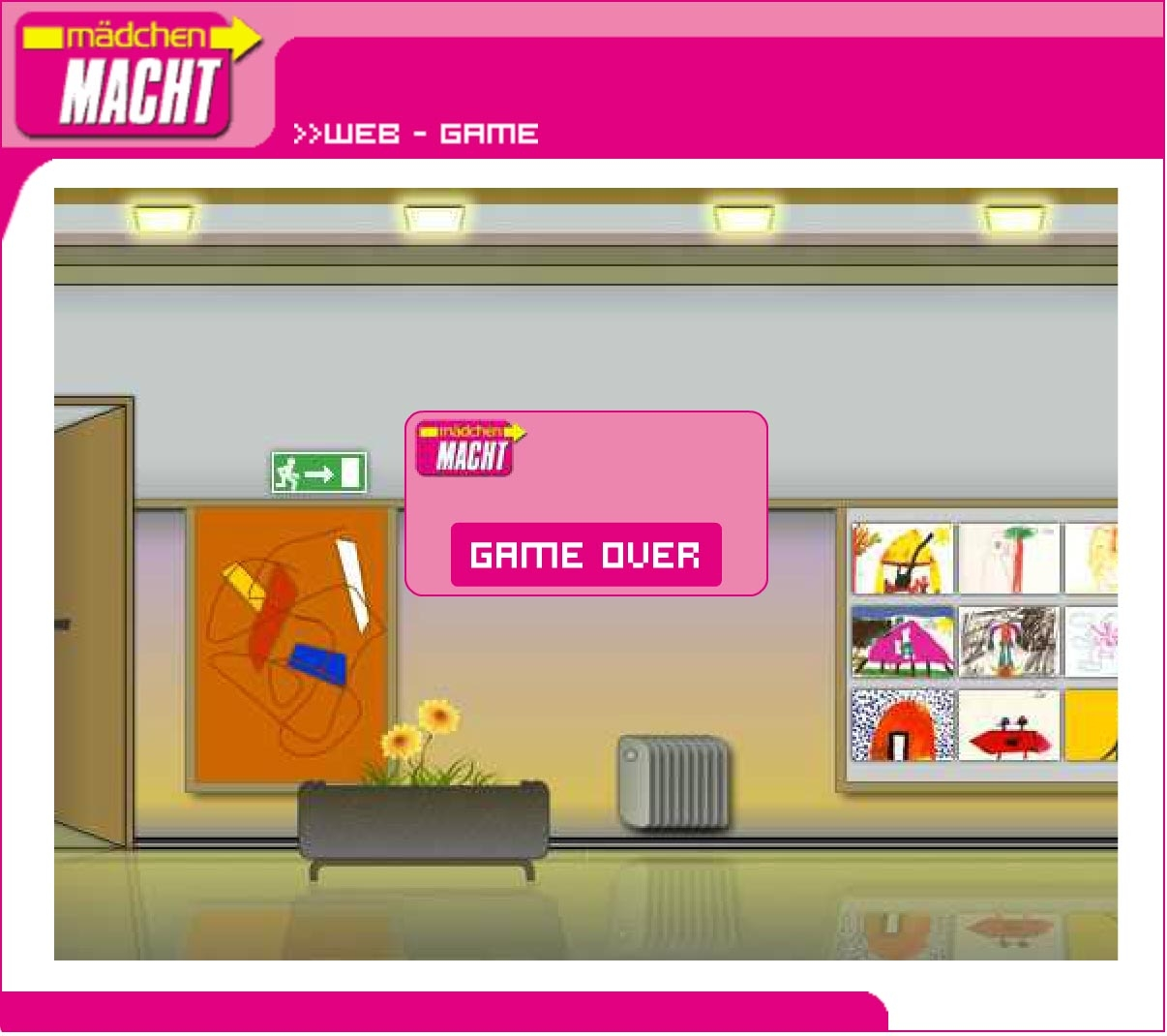 Mädchen macht! | maedchenmacht.at | 2002 | Game (Screen Only 07) © echonet communication