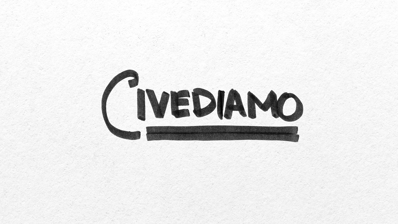 civediamo.at | 2018 (Logo Scribble 01) © echonet communication
