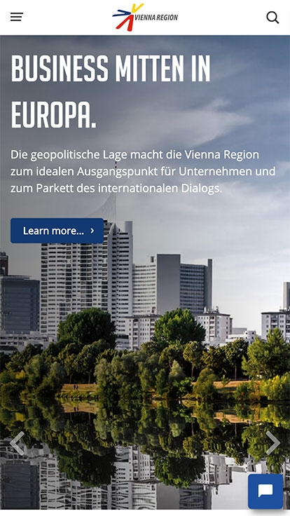 Vienna Region Marketing | viennaregion.at | 2017 (Phone Only 01) © echonet communication