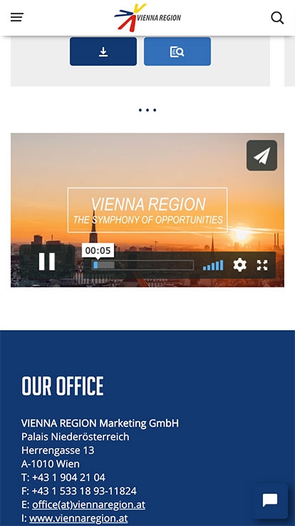 Vienna Region Marketing | viennaregion.at | 2017 (Phone Only 05) © echonet communication